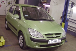 Hyundai Getz GL 1.4 AT